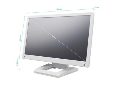 Monitor 15 pulgadas (blanco)